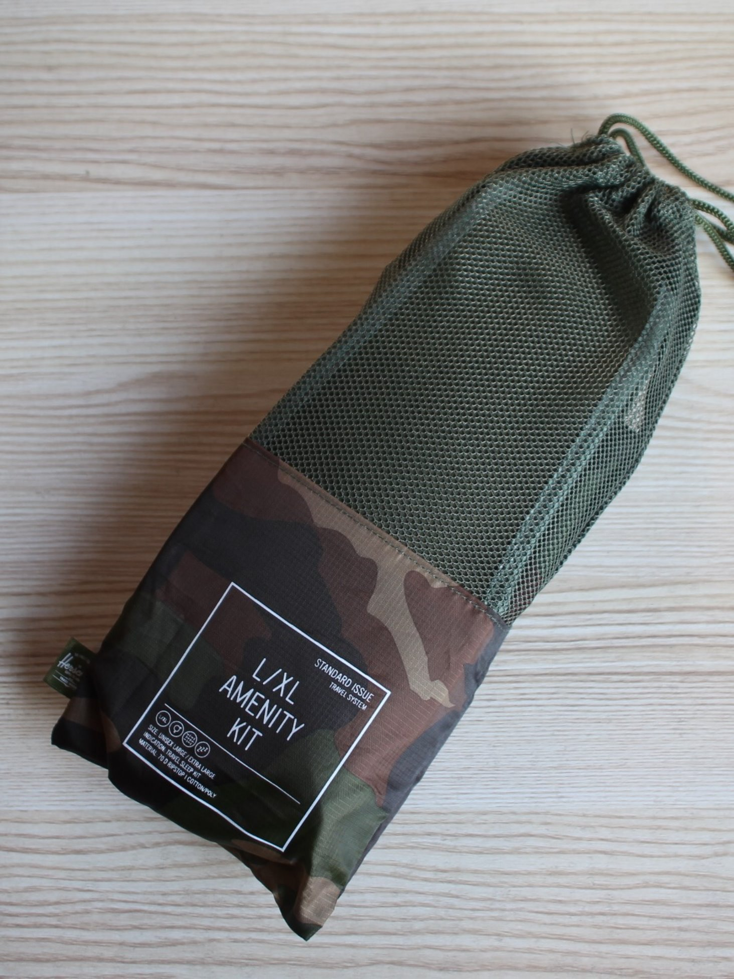 [HERSCHEL] Amenity Kit (Woodland Camo)