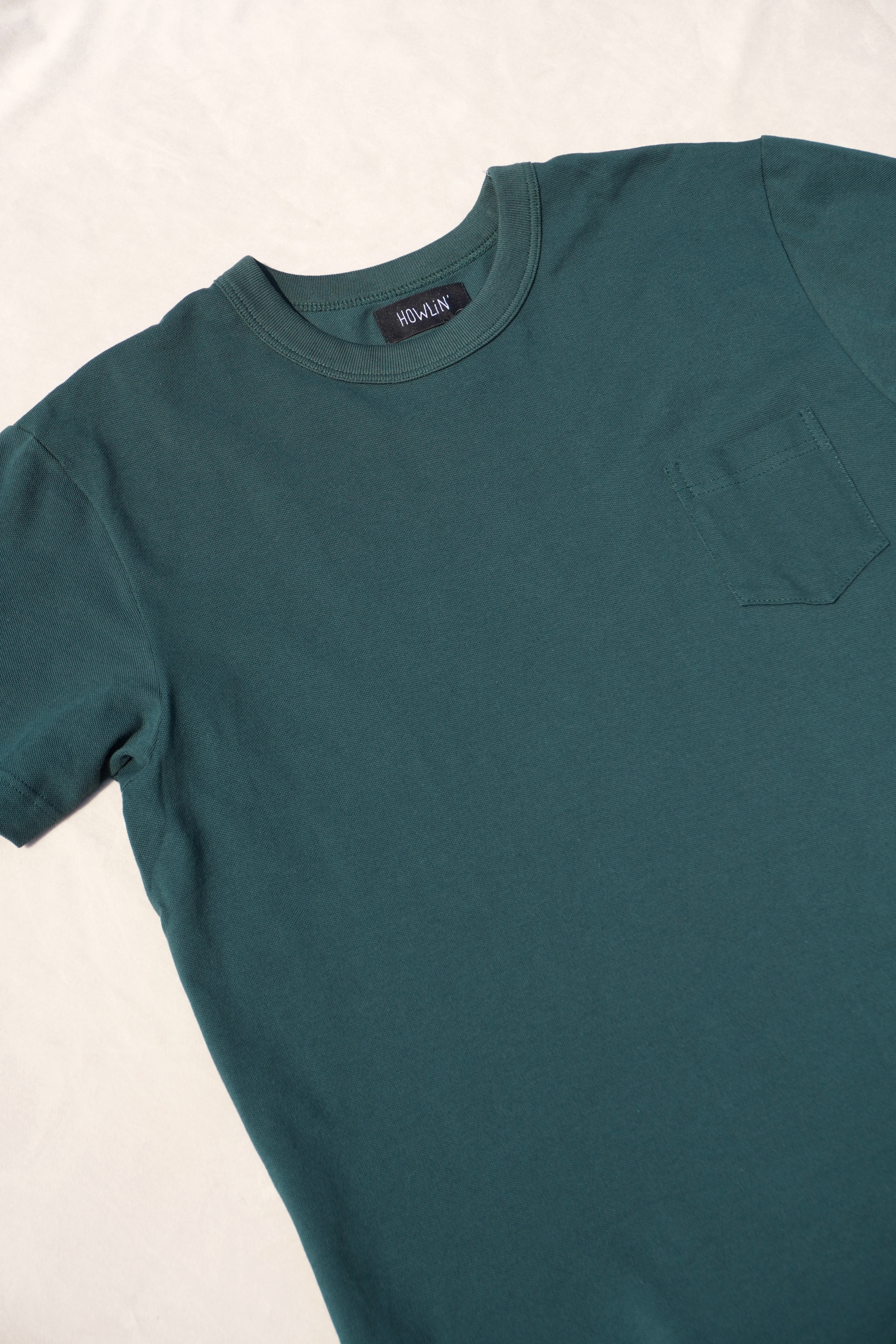 [HOWLIN'] Don't Stop The Tshirt - Petrol Green